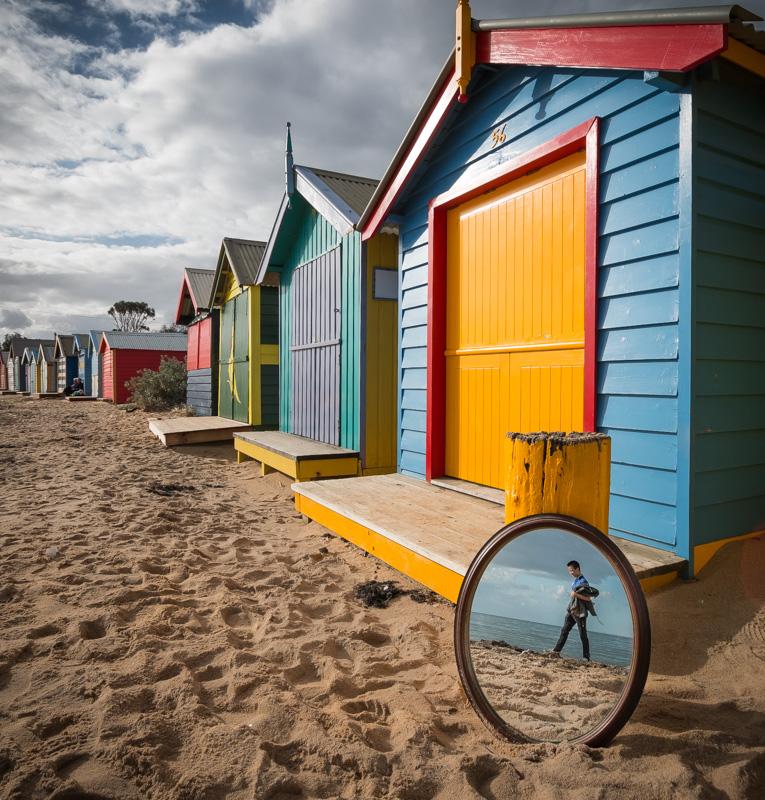One Beach, Two Views