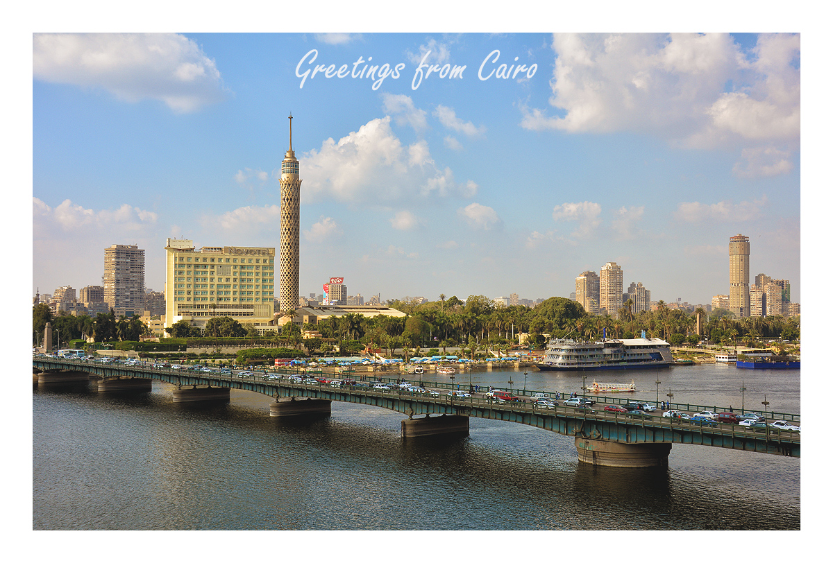 Greetings from Cairo
