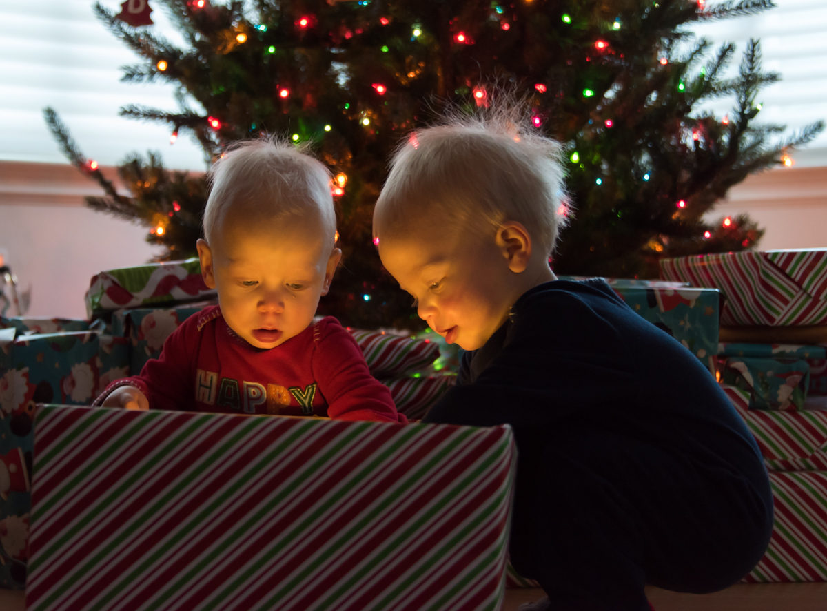 Twin Christmas Play
