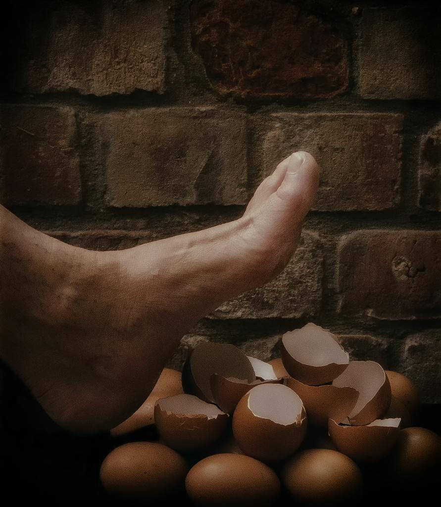 Walking On Egg Shells