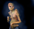 Ancient OmniGrud� Portrait of a Male Amphiean [credit: Intergalactic Portrait Archive - year 27886]
