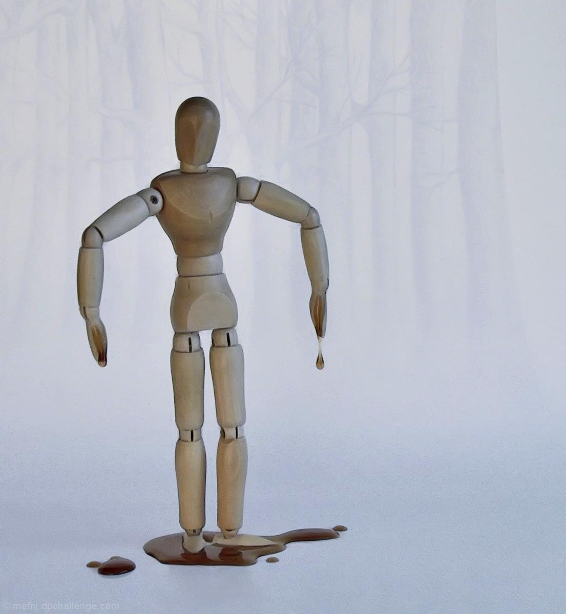 Woody cursed his Maple tree genes whenever sap running season rolled around
