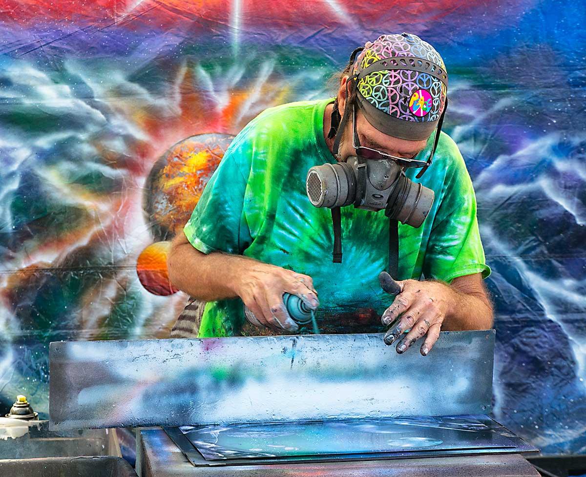 Spray Artist