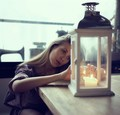 Portrait with lantern