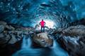 Ice cave man