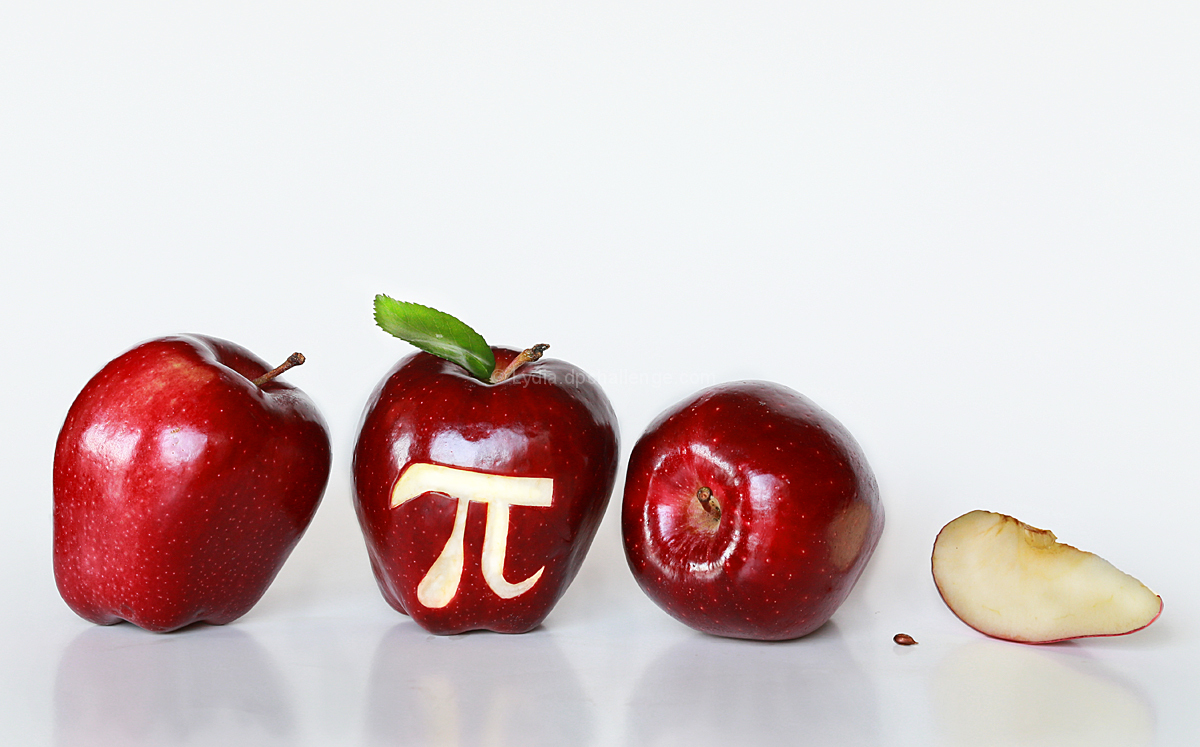 3.14 apples  =    Apple Pi