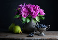 Peonies-and-Fruit