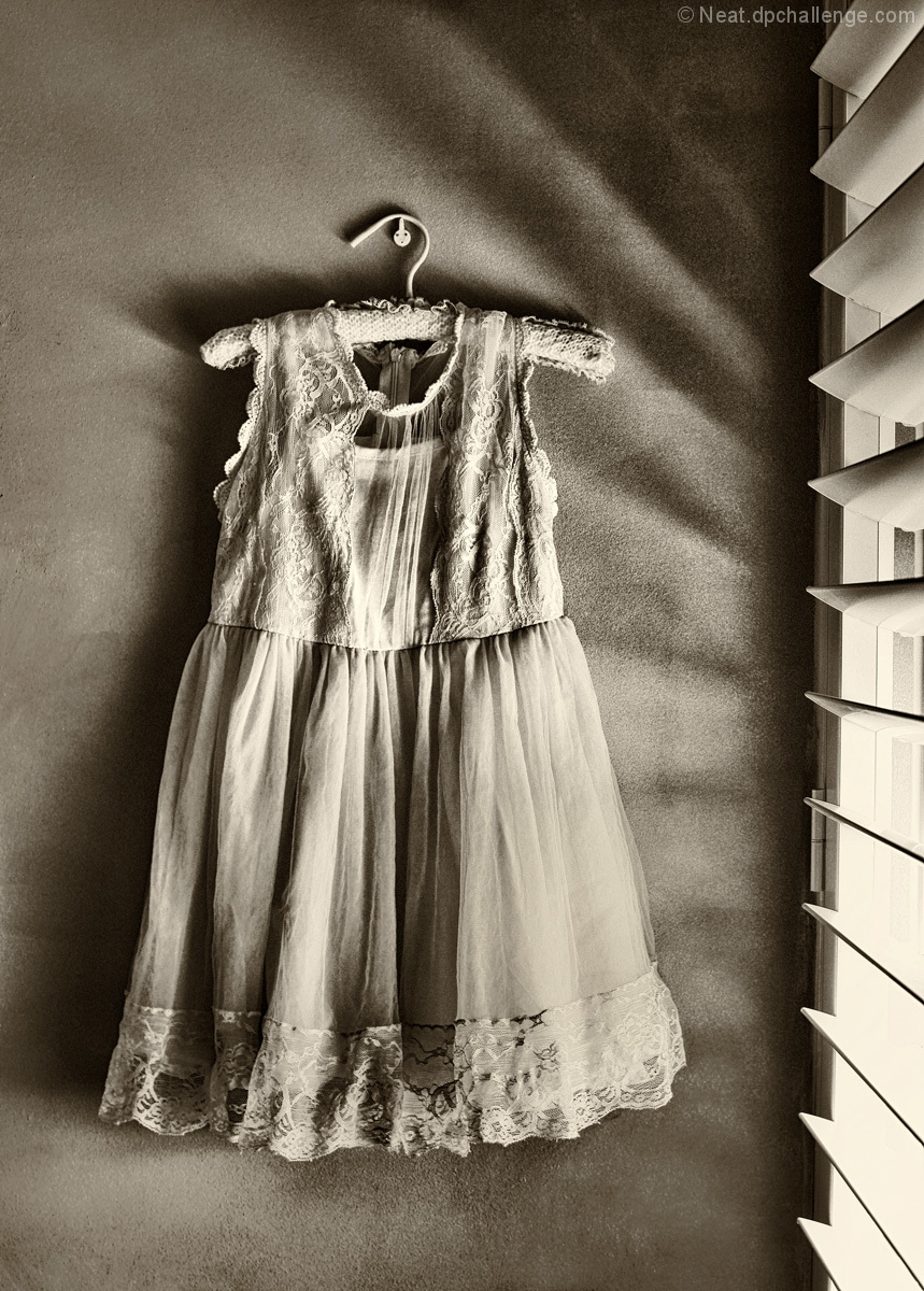 A light dress