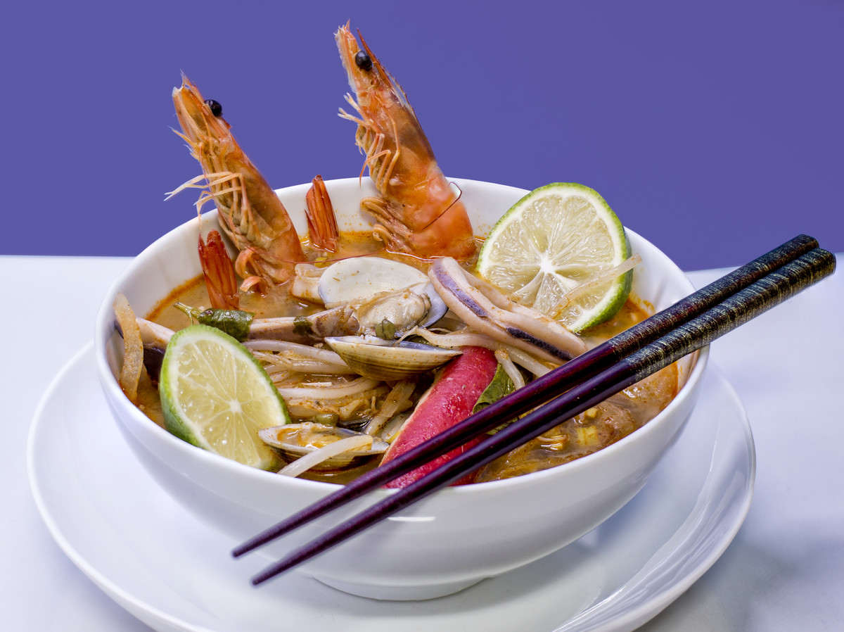 TomYum Seafood Noodles