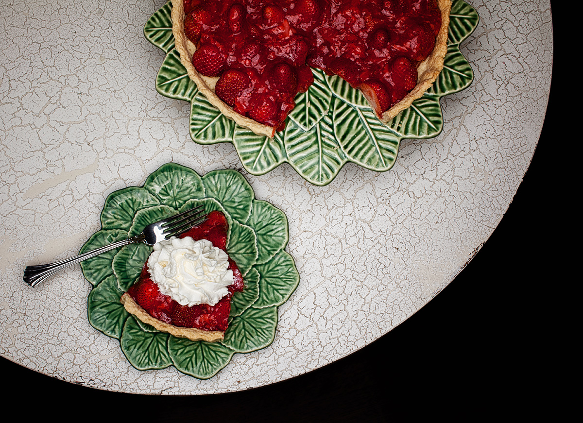 Mom's strawberry pie