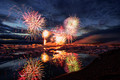 Fireworks at J�kuls�rl�n