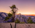 Last Sun On Half Dome - Glacier Point, Yosemite National Park