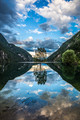 Clouds and Mirrors (Dolomites National Park)