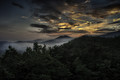 Sunrise in the  Great Smoky Mountains