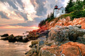 Bass Harbor Light at Acadia National Park