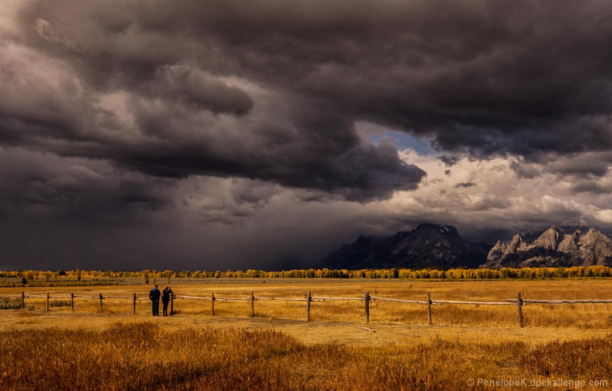 Looming Storm, Grand Teton NP