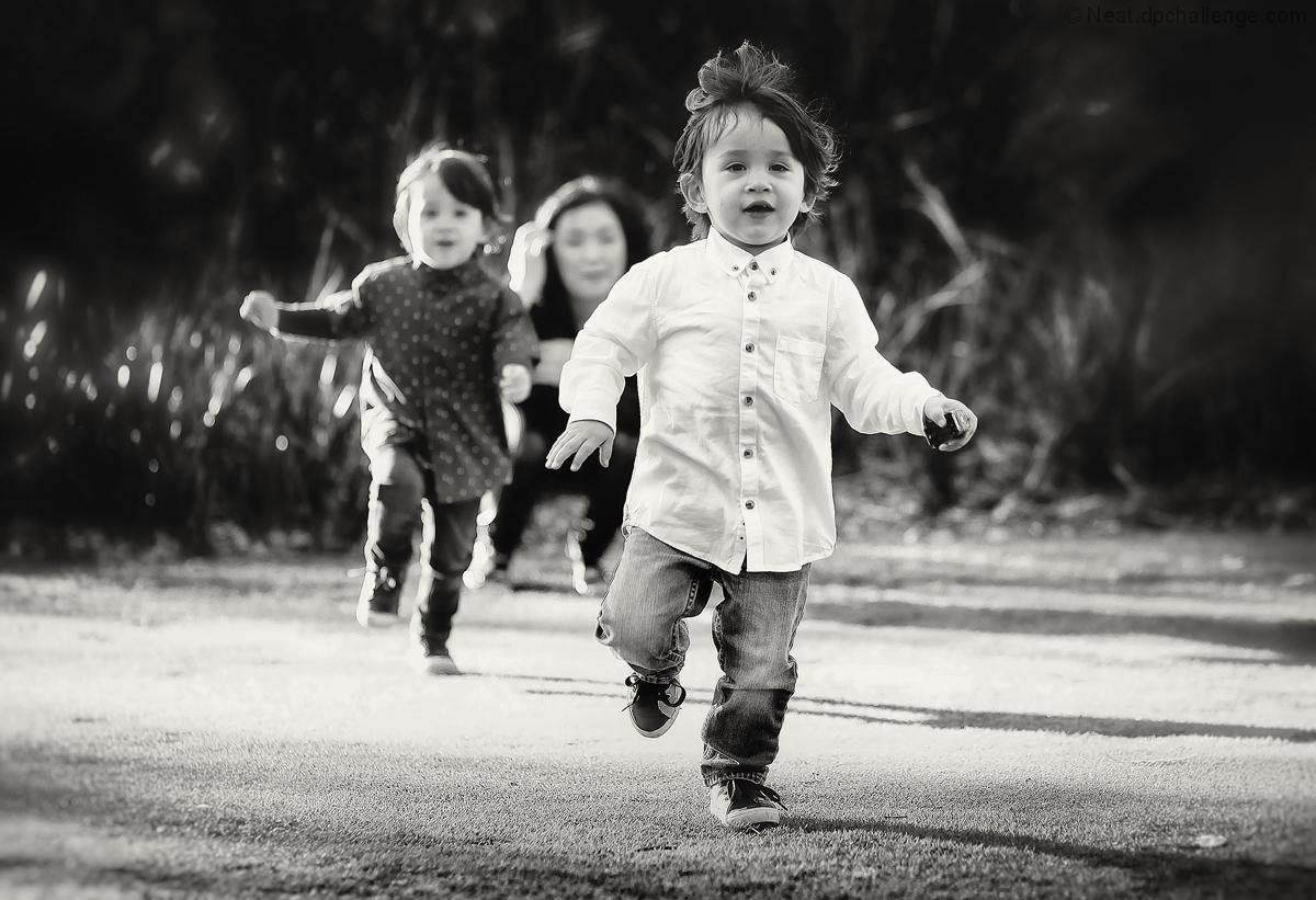 The faster runner