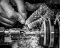 Working the Lathe
