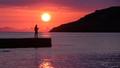 Fishing at Sunrise