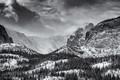 Glacier Gorge Polar Vortex
