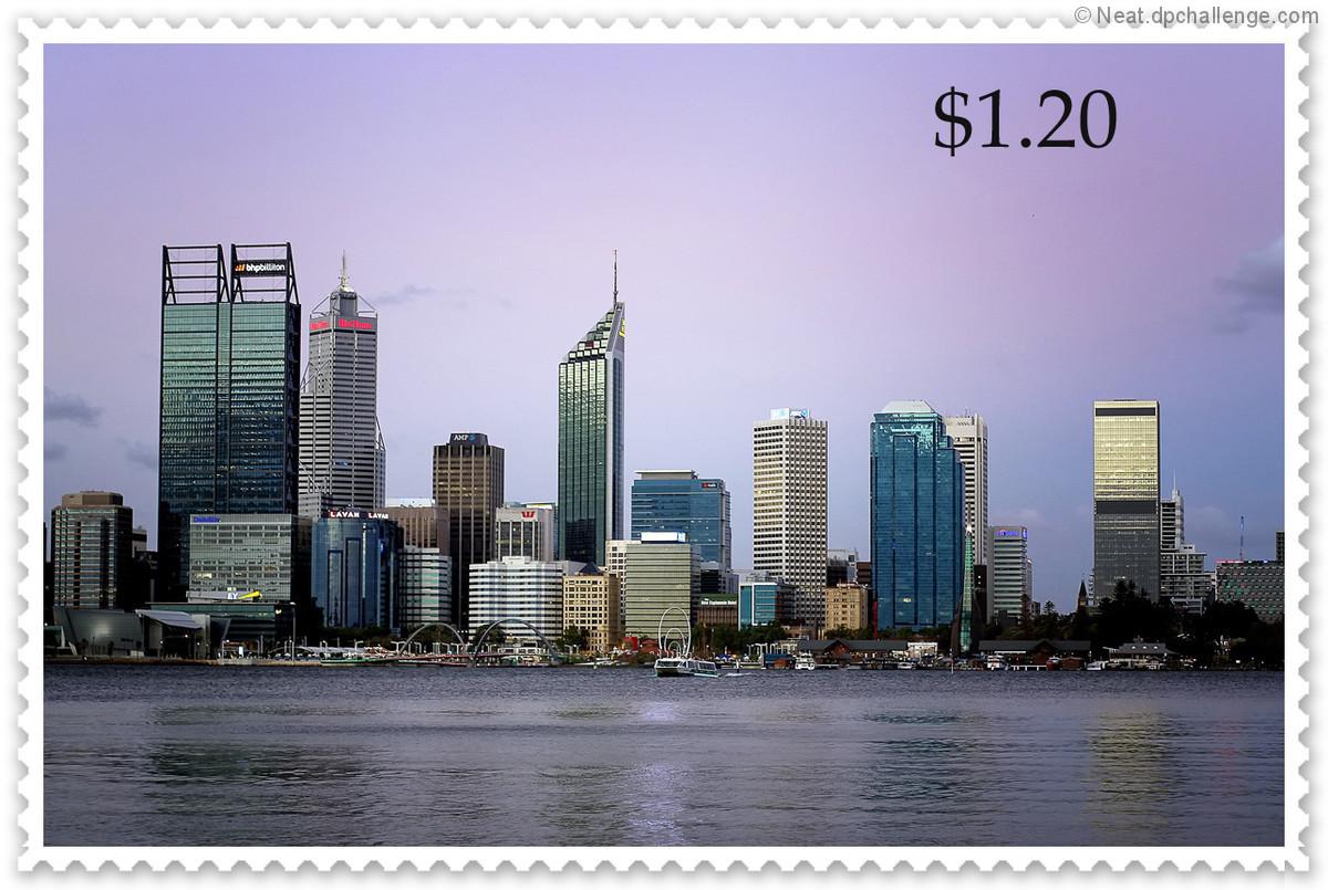My city stamp