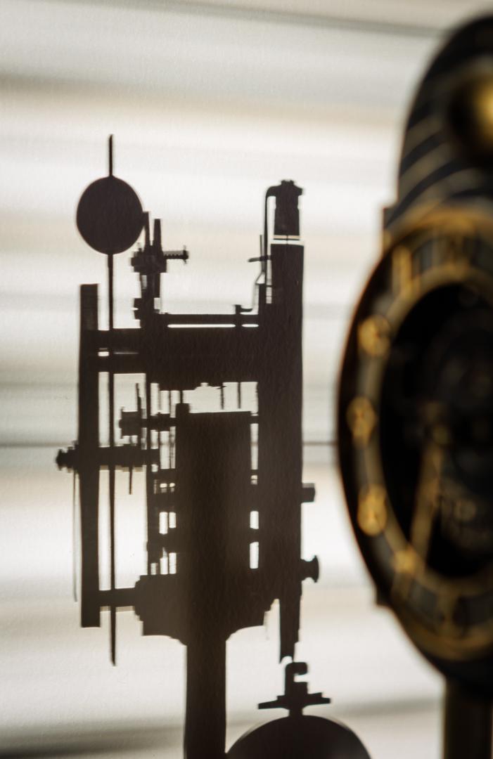 Clock Gear Silhouette
