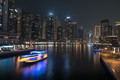 Dubai creek by twilight