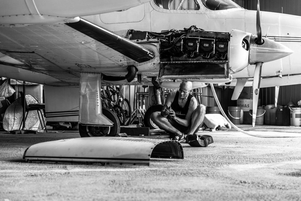 I repair My flight