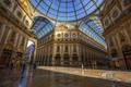 The beautiful Galleria Vittorio Emanuele II