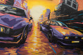 Street racing car