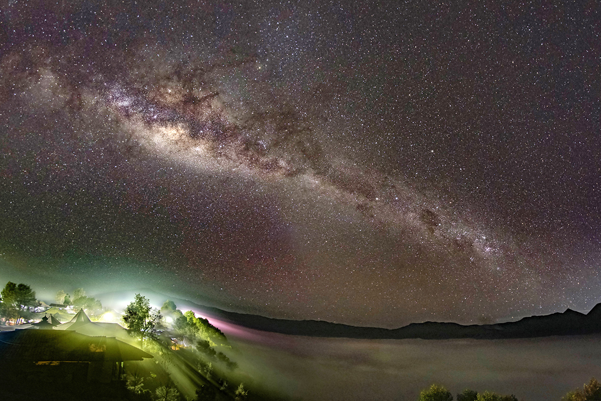 Milky Way at Mount Bromo