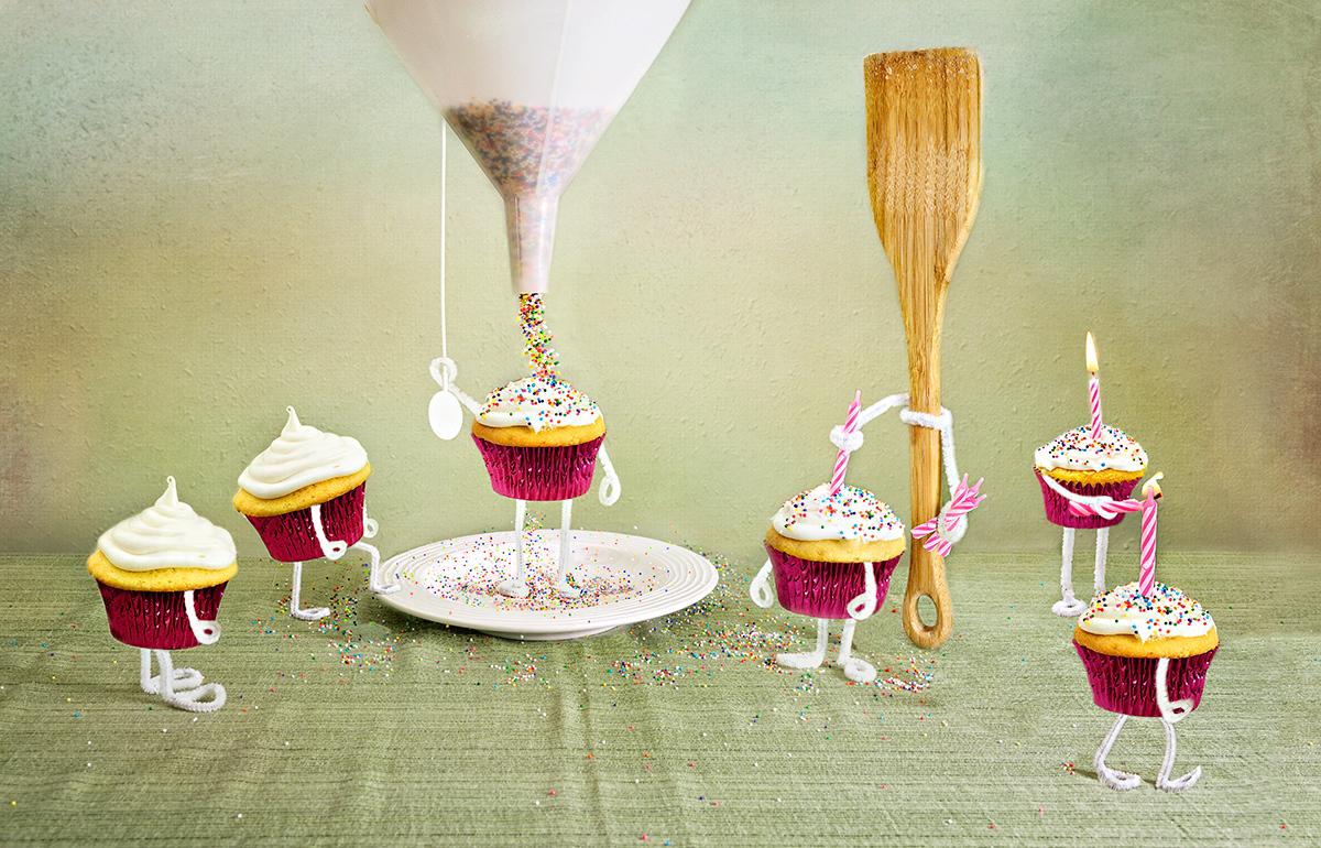 Cupcake Bridesmaids