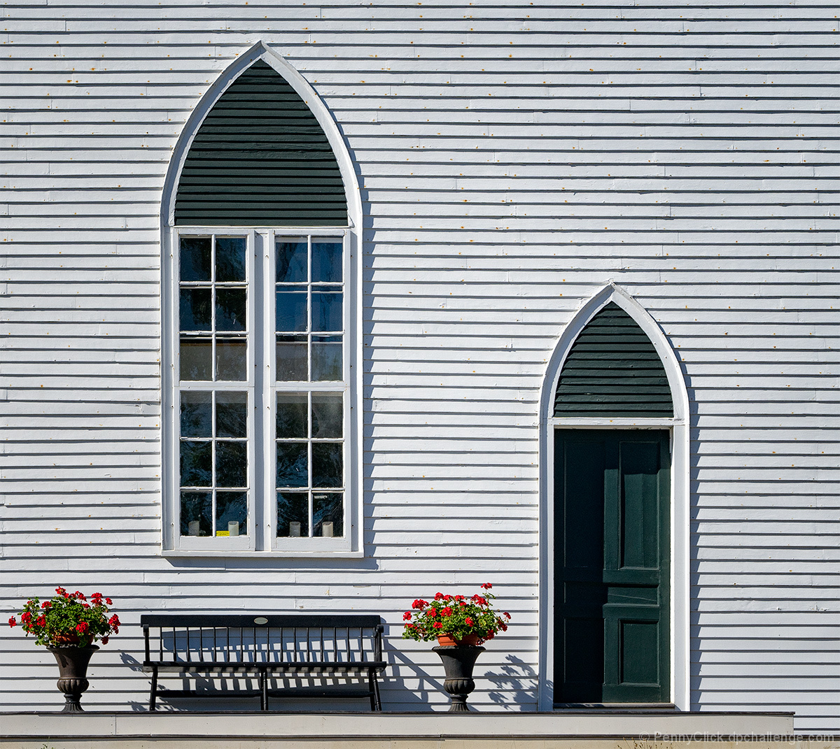 New England Gothic — ca. 1830