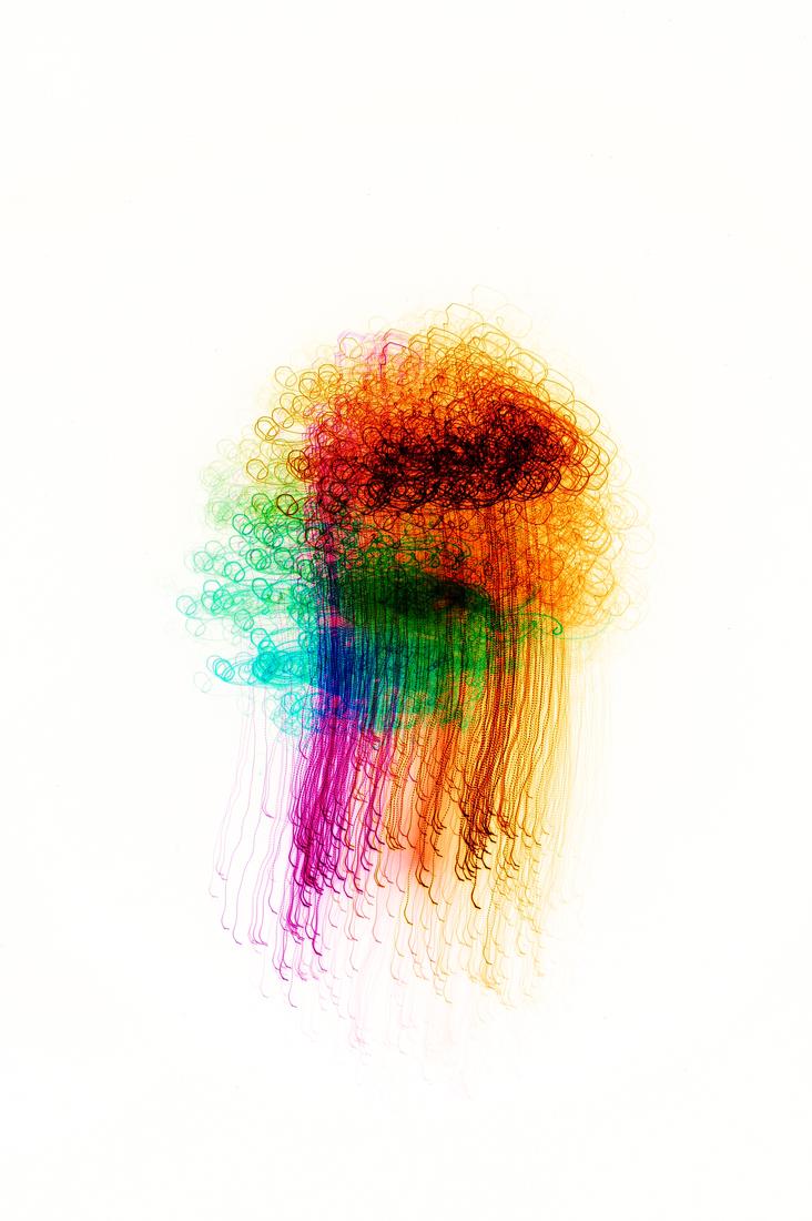 Multicolor medusa