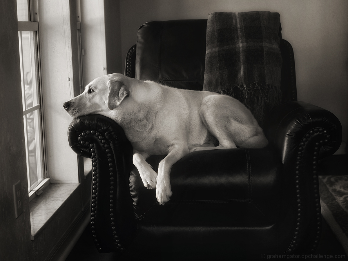Her favorite spot