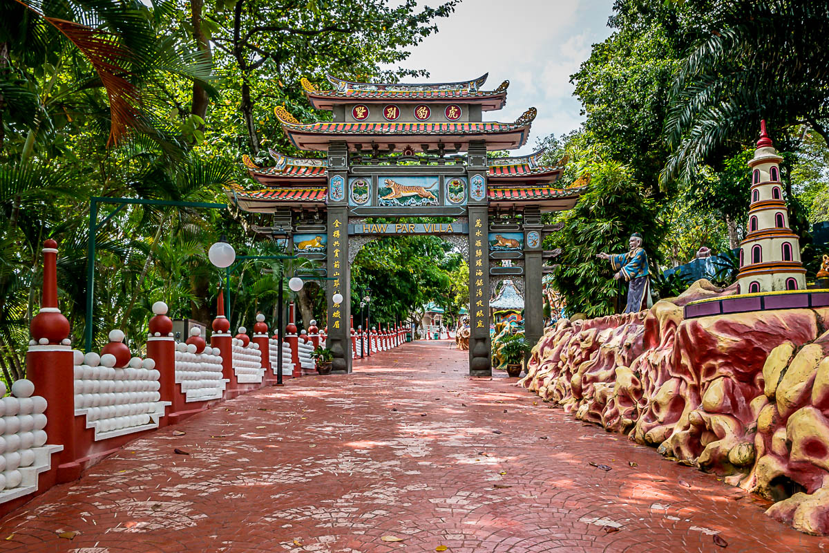 Tiger Balm Garden later know as Haw Par Villa
