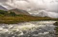 Rain-fed river