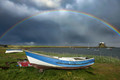 Rainbow Over Lindisfarne