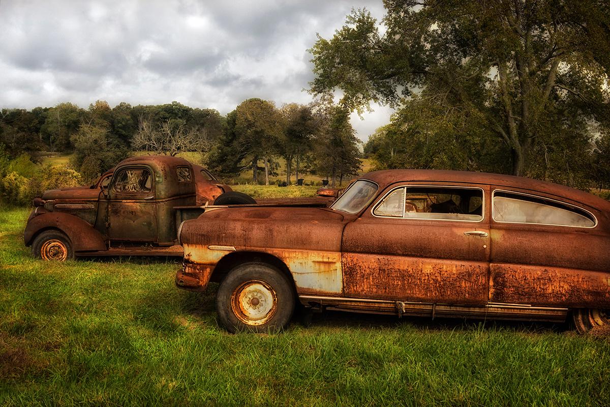 Pasture Parking Lot