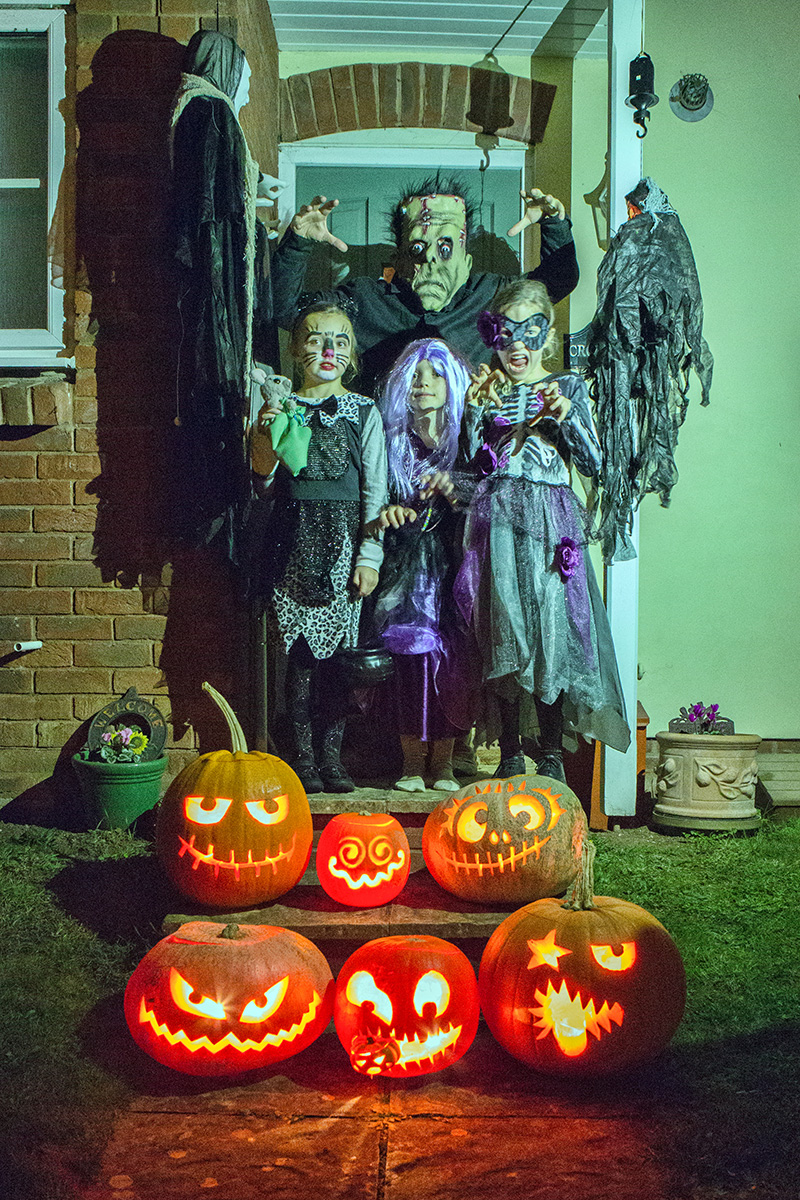 Frankenstein and family
