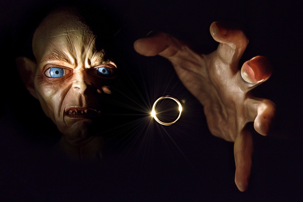 What draws forth your inner Gollum?