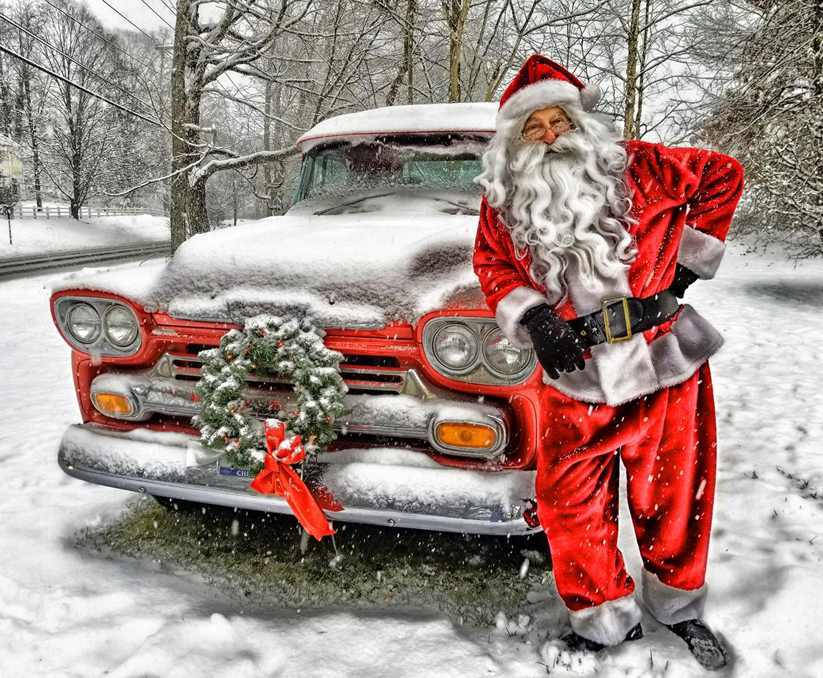 Santa's Weekend Ride