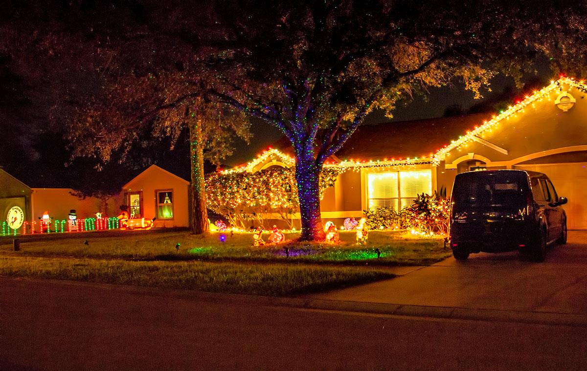 Suburban Christmas