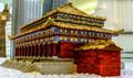 The Forbidden City in Beijing built in mini Lego Block