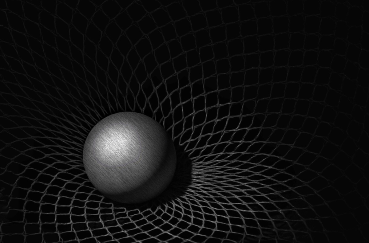 Suspended in Space-Time