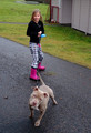 Never let the kids walk the dog