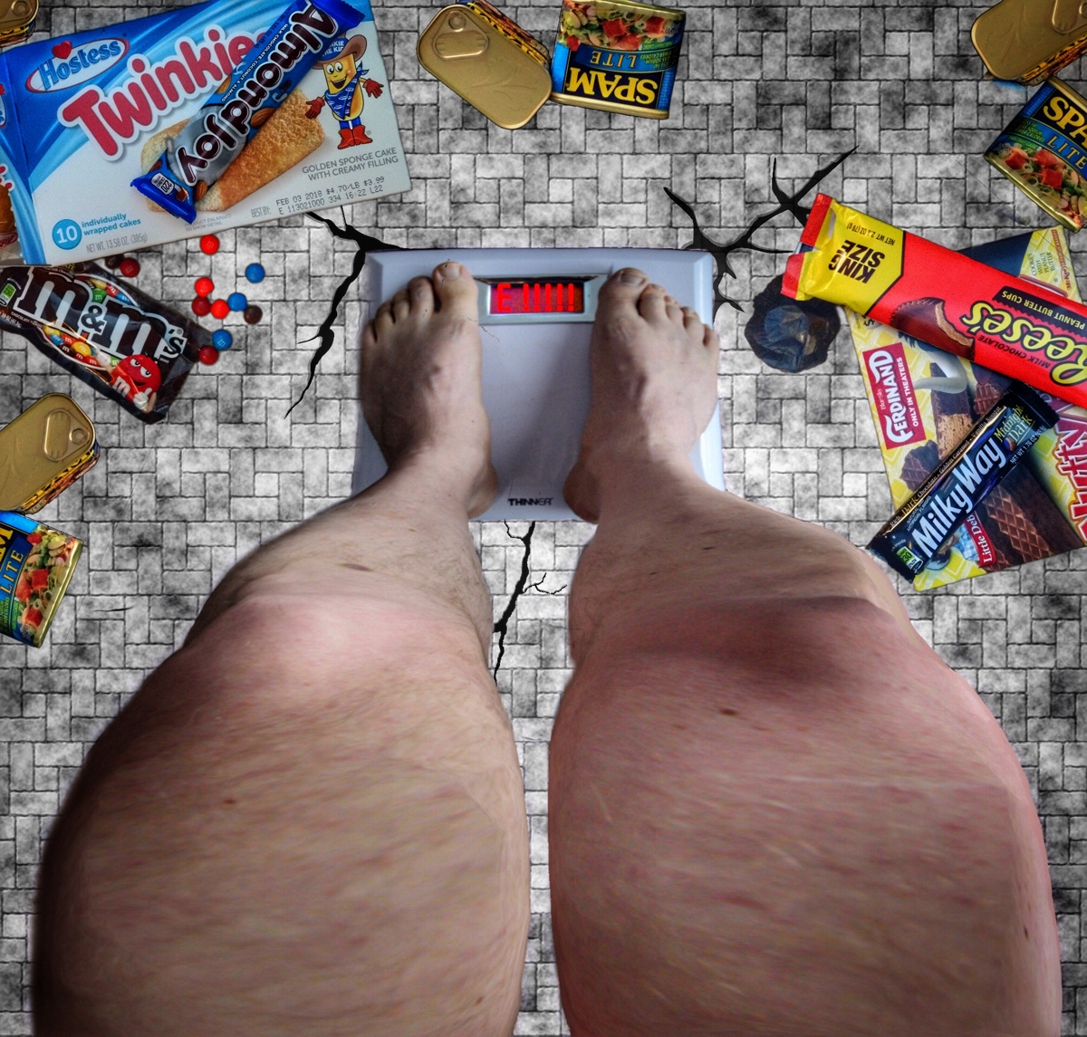 The Spam Lite & Snacks Diet