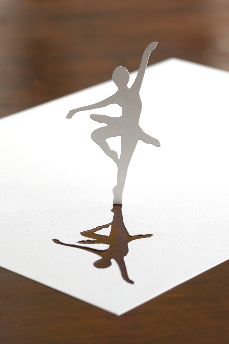 The dancer and her shadow