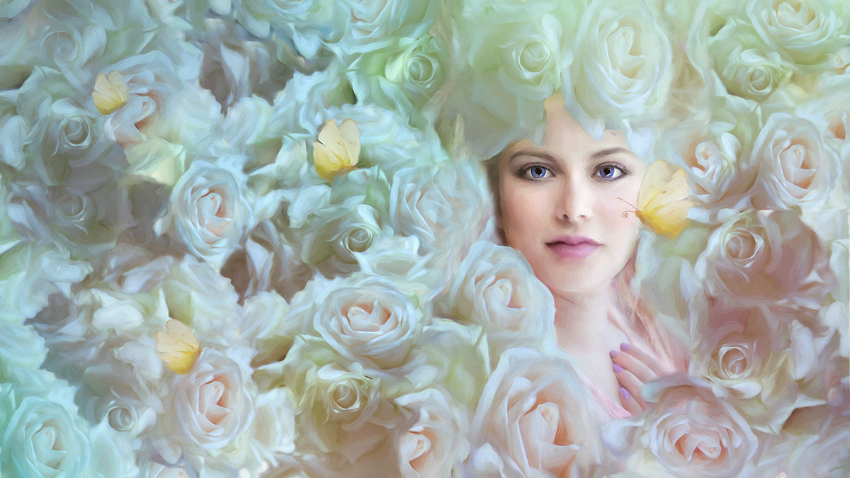 She was chaos and beauty.  A tornado of roses from divine. -- Shakieb Orgunwall