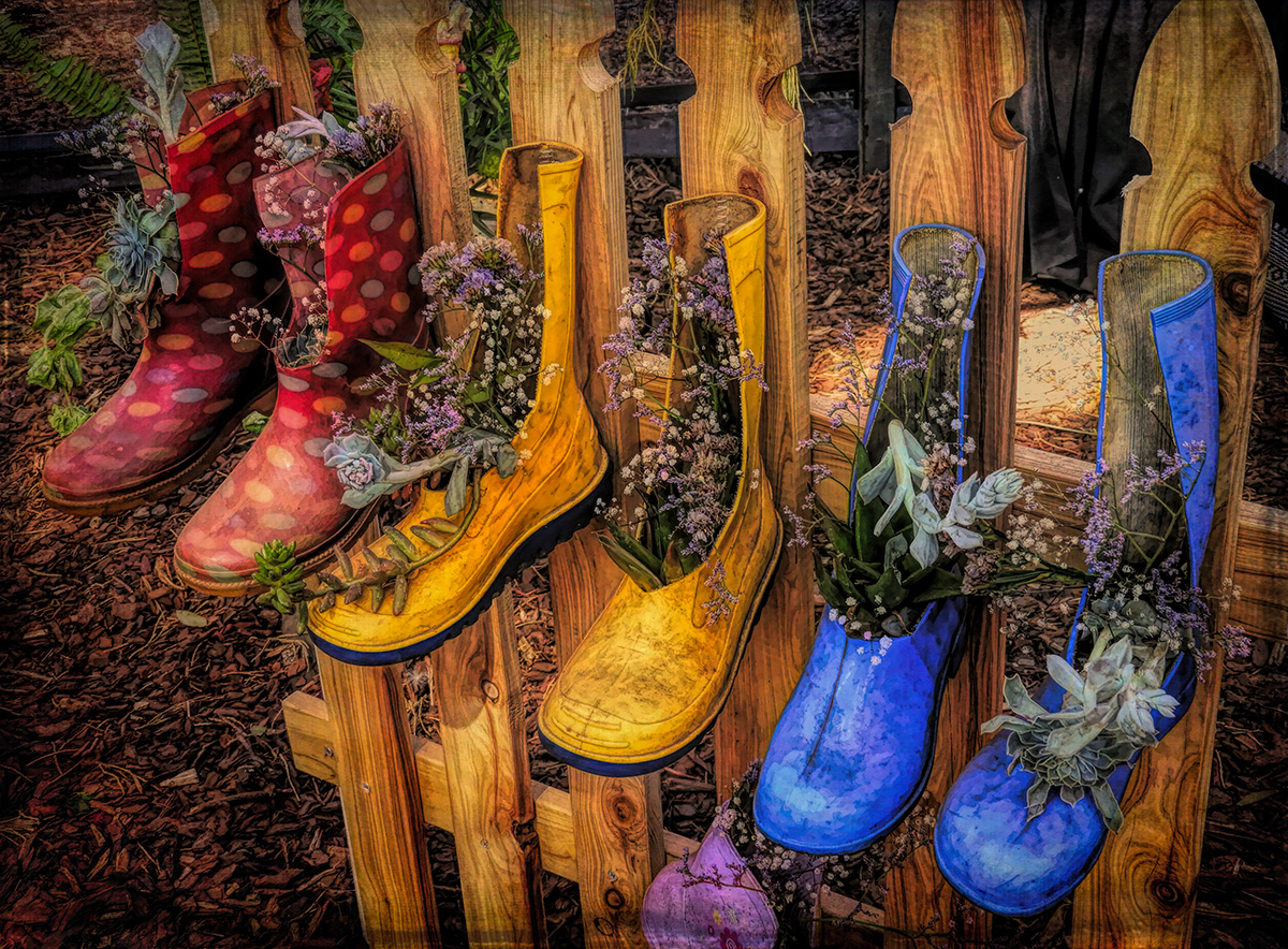Out of Season Rubber Boots